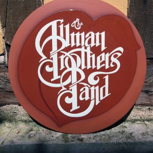 "JULIEN AUGY : Plaque décorative ""Allman Brothers Band"""