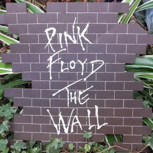"JULIEN AUGY : Plaque décorative ""Pink Floyd"""