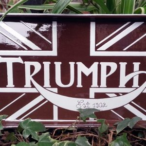 "JULIEN AUGY : Plaque décorative ""Triumph"""